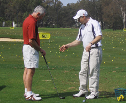 individual golf coaching